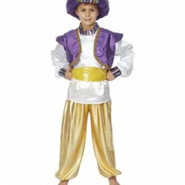 Carnaval  Aladdin verkleed kleren jongens kostuum