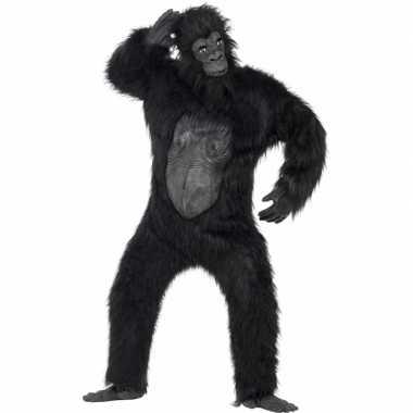 Carnaval  Apen kostuumken volwassenen gorilla