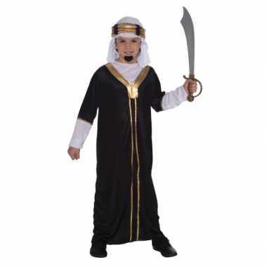 Carnaval  Arabieren kostuum inclusief hoofddoek kinderen