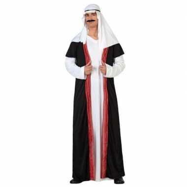 Carnaval arabische sjeik nacht verkleed kostuum/gewaad heren