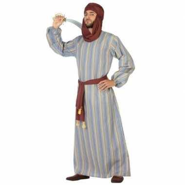 Carnaval arabische strijder ali verkleed kostuum/gewaad heren