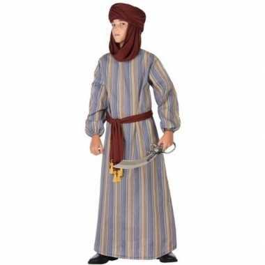 Carnaval arabische strijder ali verkleed kostuum/gewaad jongens