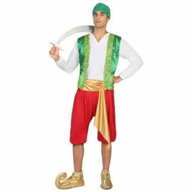 Carnaval arabische strijder amir verkleed kostuum heren