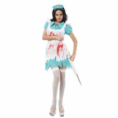 Carnaval  Bebloede zuster kostuum delig