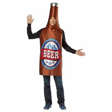 Carnaval bier fles kostuum/kostuum