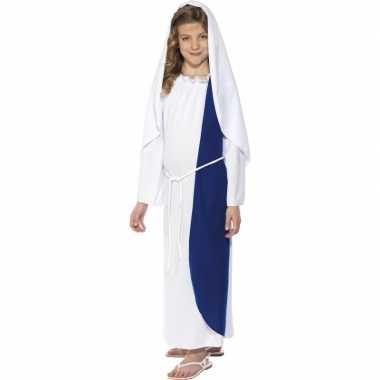 Carnaval  Bijbelfiguren kinder kleding Maria kostuum