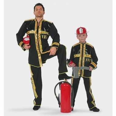 Carnaval brandweer kostuum kinderen