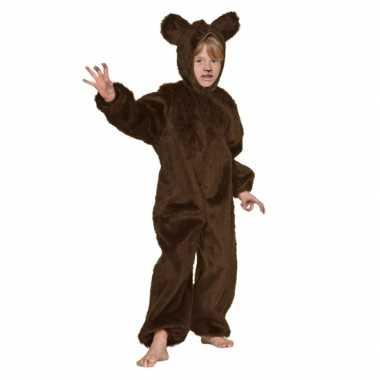 Carnaval  Bruin beren kostuum kinderen