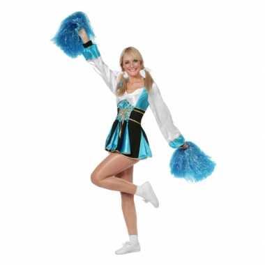 Carnaval  Cheerleader kostuum jurkje dames