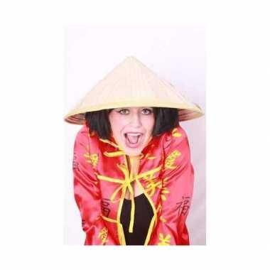 Carnaval  Chinese hoedjes kostuum