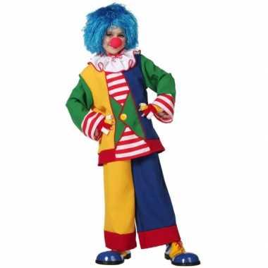 Carnaval clown kostuum kinderen