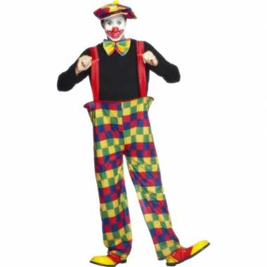 Carnaval  Clowns kostuum volwassenen