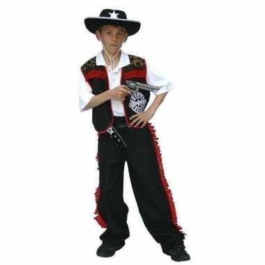 Carnaval cowboy verkleed kostuum jongens