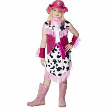 Carnaval  Cowgirl kostuum jurkje meiden