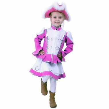 Carnaval dansmarieke meisjes kostuum