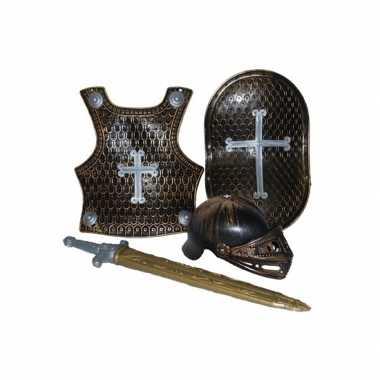 Carnaval  -delige ridder kostuum brons