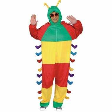 Carnaval dieren kostuum rups volwassenen