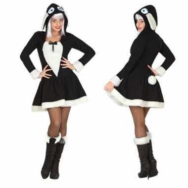 Carnaval dierenkostuum schaap verkleed kostuum jurkje dames