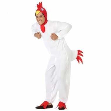 Carnaval dierenkostuum verkleed kostuum kip/haan volwassenen