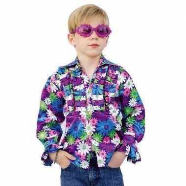 Carnaval  Disco bloemen kostuum kids