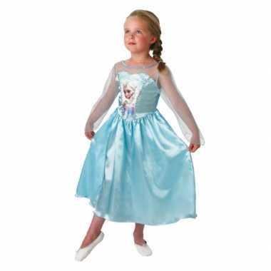 Carnaval elsa frozen kostuum kinderen
