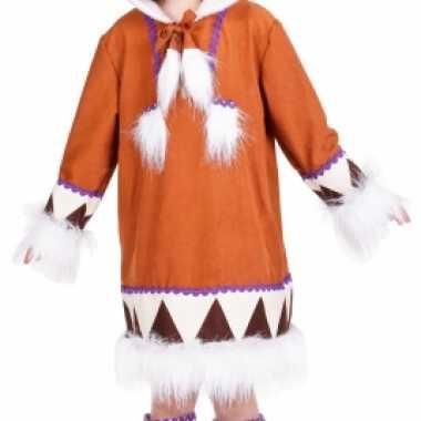 Carnaval  Eskimo kostuum laarshoezen meisjes
