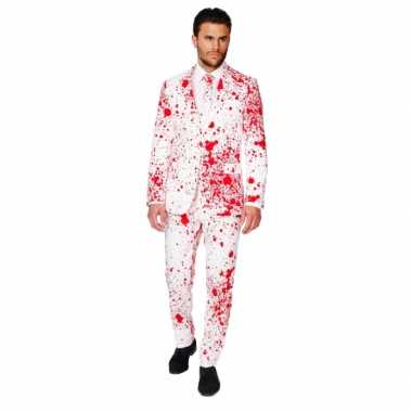 Carnaval  Feest kostuum bloedspatten print