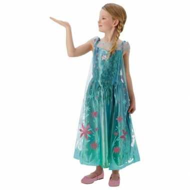 Carnaval  Feest kostuum Elsa Frozen meisjes