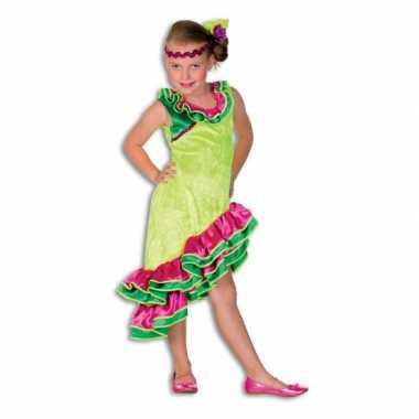 Carnaval  Flamenco kleding meiden kostuum