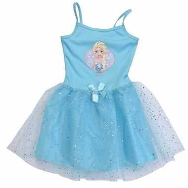 Carnaval frozen kostuum jurkje meisjes
