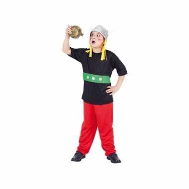 Carnaval gallier kostuum kinderen -delig