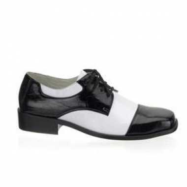Carnaval  Gangster heren schoenen krokdillenprint kostuum