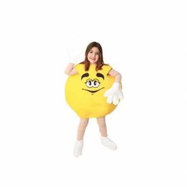Carnaval  Geel snoep snoepje kinder kostuum