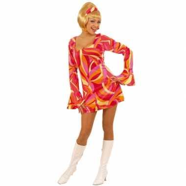 Carnaval  Gekleurd dames kostuum jurk jaren