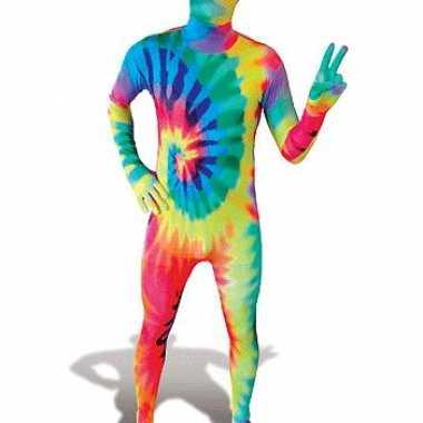 Carnaval gekleurde kostuum