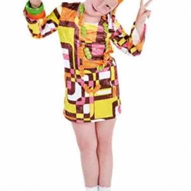 Carnaval  Gekleurde s kostuum jurkje kinderen