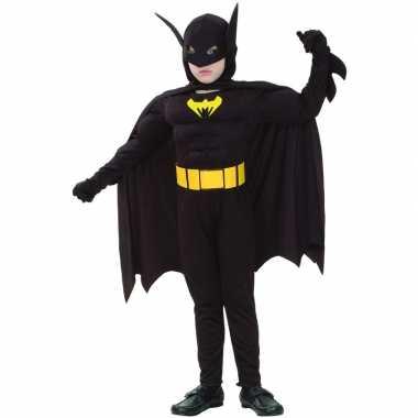 Carnaval  Gespierde vleermuis superheld kinder kostuum