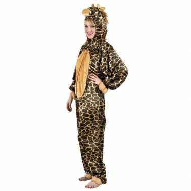Carnaval giraffe dierenkostuum dames