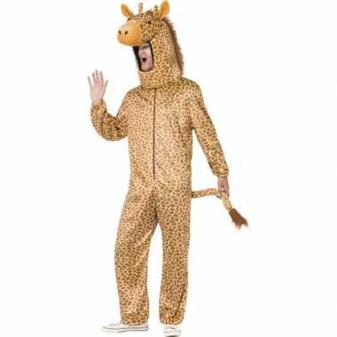 Carnaval  Giraffe kostuum volwassenen