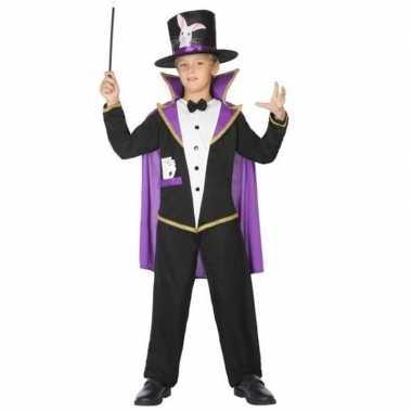 Carnaval goochelaar verkleed kostuum/kostuum kinderen