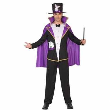 Carnaval goochelaar verkleed kostuum/kostuum volwassenen