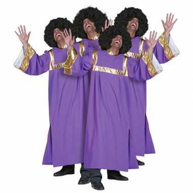 Carnaval gospel koor kleren dames heren kostuum