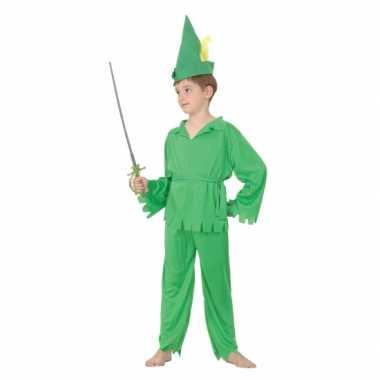 Carnaval  Groen elfjes kostuum jongens