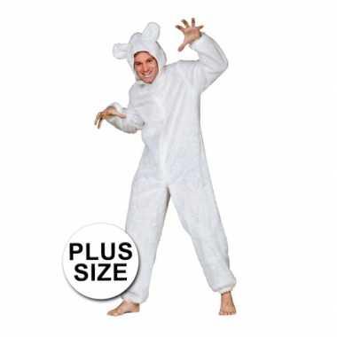 Carnaval  Grote maten ijsberen kostuum volwassenen