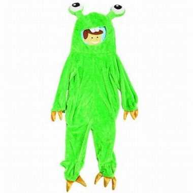 Carnaval  Gumbly monster kinder kostuum
