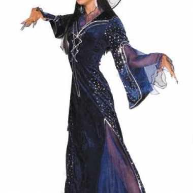Carnaval  Heksen verkleedkleren kostuum jurk paars