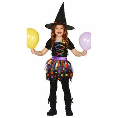 Carnaval  Heksenjurk meisjes kostuum