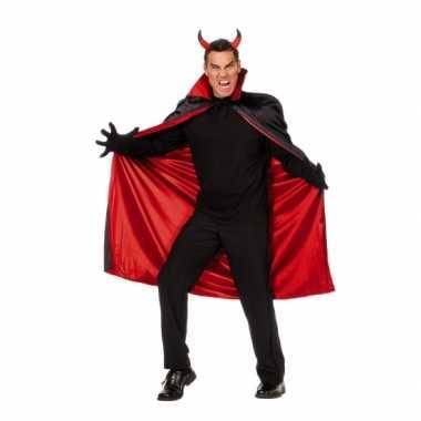 Carnaval  Heren mantel duivel kostuum