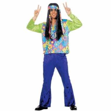 Carnaval  Hippie kostuum heren