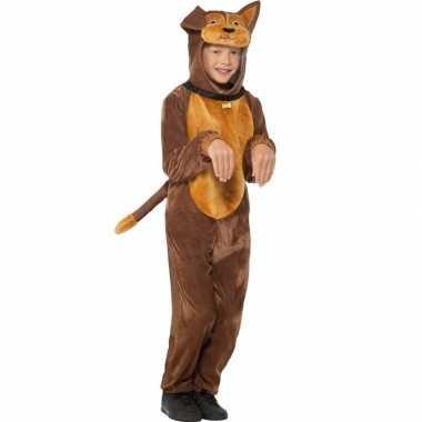 Carnaval hond onesie dierenkostuum kinderen
